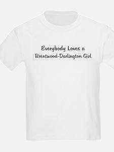 Brentwood-Darlington Girl Kids T-Shirt