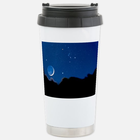 Night sky - Stainless Steel Travel Mug