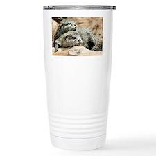 Oriental small-clawed otters - Travel Mug