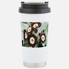 Primula auricula 'The Snods' - Travel Mug