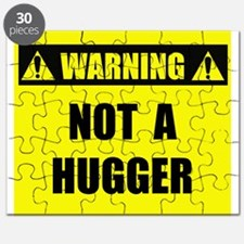 WARNING: Not A Hugger Puzzle