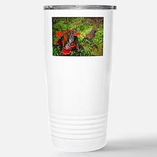 Reishi fungus - Stainless Steel Travel Mug