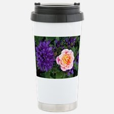 Rose flower and clustered bellflowers - Stainless