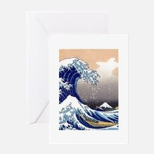The Great Wave off Kanagawa Greeting Card