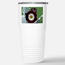 Show auricula 'Gizabroon' flowers - Travel Mug
