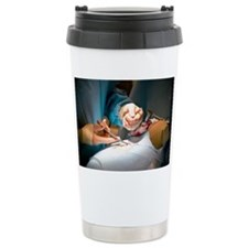 Slipped disc microendoscopy surgery - Travel Mug