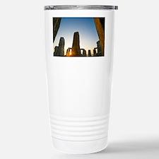 Stonehenge at sunrise - Stainless Steel Travel Mug