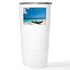 Traditional fishing boat, Timor -Leste - Travel Mug