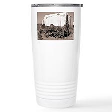 Wild West covered wagons - Travel Mug