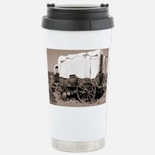 Wild West covered wagons - Travel Mug