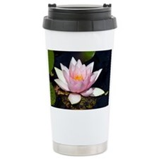 White water lily - Travel Mug
