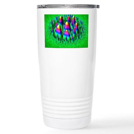 Yttrium oxide, AFM - Stainless Steel Travel Mug
