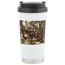 1673 Cryptozoology Mapinguari, mylodon - Travel Mug