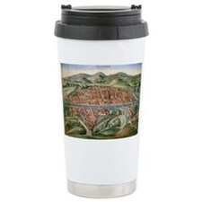 16th Century Plan of Florence - Travel Mug