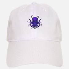 All seeing Octopus purple Baseball Baseball Cap