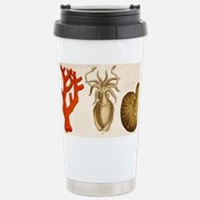 1750 coral squid - Stainless Steel Travel Mug
