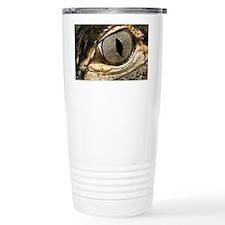 American alligator eye - Travel Mug