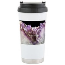 Amethyst crystals - Travel Mug