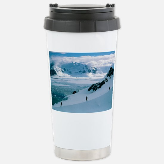 Antarctic climbing - Stainless Steel Travel Mug