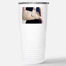 Arm in a sling - Travel Mug