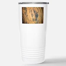 Aorounga Crater, Chad, satellite image - Travel Mug