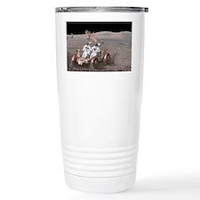 Apollo lunar rover, artwork - Travel Mug