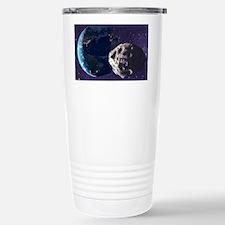 Asteroid approaching Earth - Travel Mug
