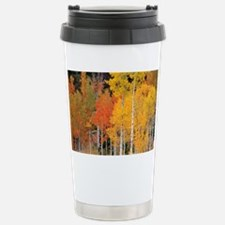 Autumn Aspen trees - Travel Mug