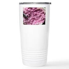 Cobalt calcite mineral sample - Travel Mug