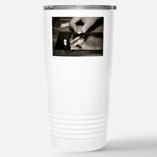 Cocaine use - Stainless Steel Travel Mug