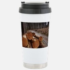 Cleared forest - Travel Mug