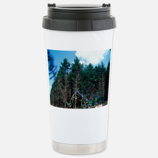 Commercial forestry - Stainless Steel Travel Mug