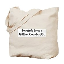 Gilliam County Girl Tote Bag