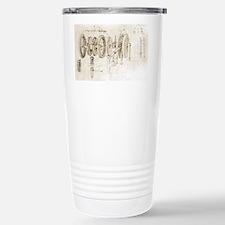 Da Vinci's notebook - Stainless Steel Travel Mug