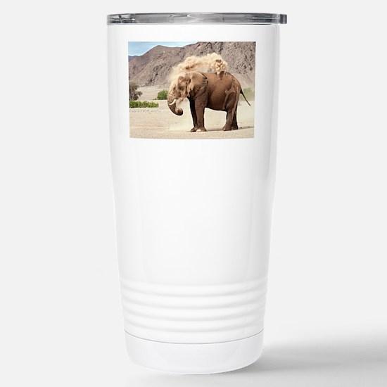 Desert-adapted elephant - Stainless Steel Travel M