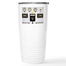 Dials and gauges at power station - Travel Mug