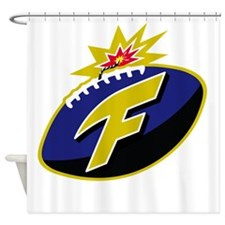 The F-Bomb Shower Curtain