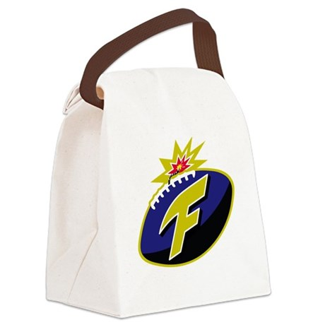 The F-Bomb Canvas Lunch Bag