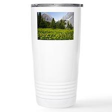 Erythronium grandiflorum - Travel Mug