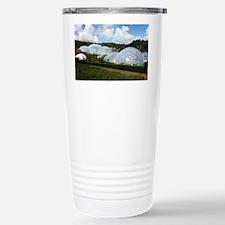 Eden Project biomes - Travel Mug