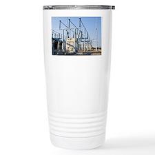 Fermilab electricity substation - Travel Mug