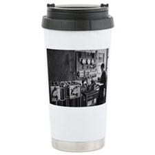 Eiffel Tower radio station, 1914 - Travel Mug