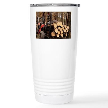 Forestry - Stainless Steel Travel Mug