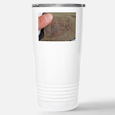 Fossil crustacean - Travel Mug