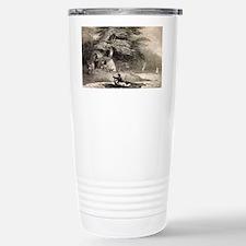 Fuegians from Beagle voyage - Travel Mug