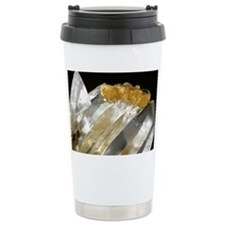 Gypsum and sulphur crystals - Travel Mug
