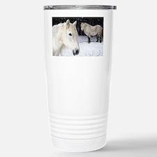 Highland ponies - Travel Mug