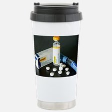 Insulin and statins - Stainless Steel Travel Mug
