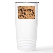 Jaguar tracks - Travel Mug