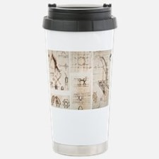 Leonardo's designs for Milan Cathedral - Travel Mug